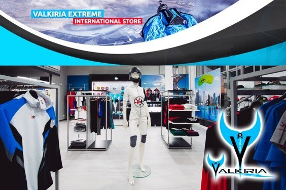 Valkiria Extreme Skydiving Store