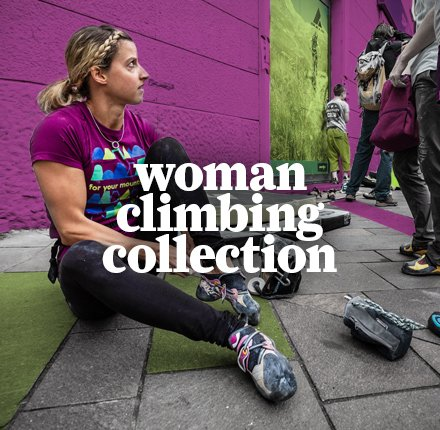 Woman Climbing Collection