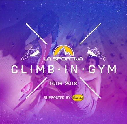 Climb in Gym Tour 2018