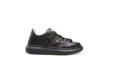 BLACK LOW SNEAKER S 2*S