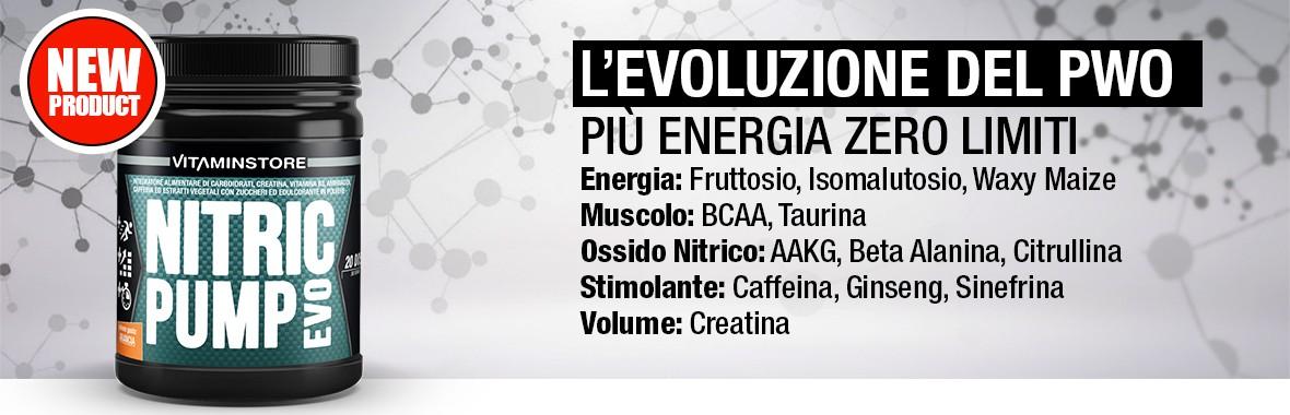 Nitric Pump Evo + Energia Zero Limiti