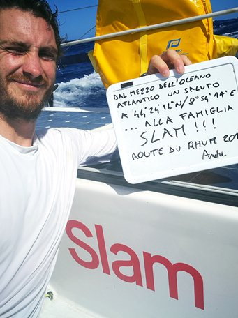 Letter from Andrea Fantini out on the ocean: wind, sea and passion en route to Guadeloupe