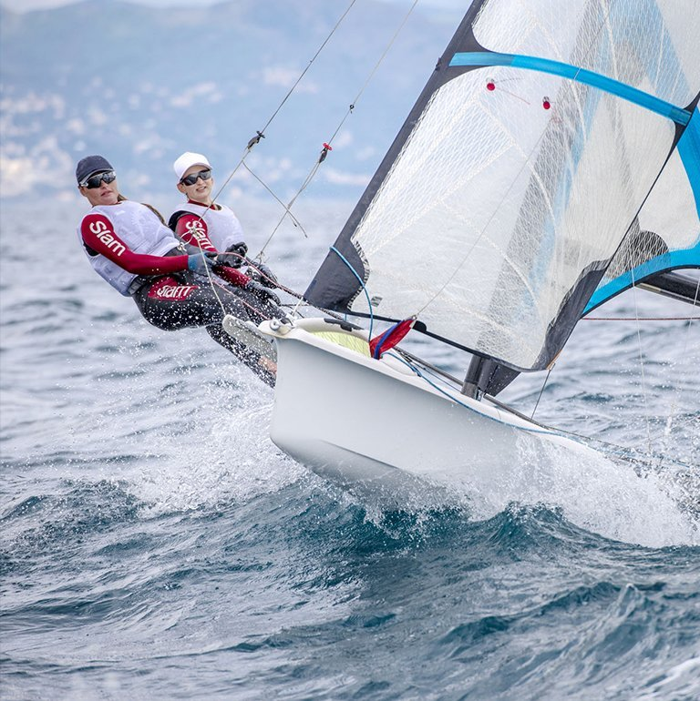 Alice Sinno and Francesca Bergamo sail towards Tokyo 2020