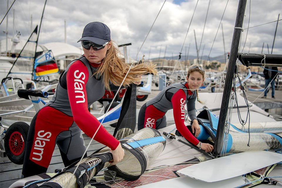 Rebranding Slam, the brand for sailing enthusiasts