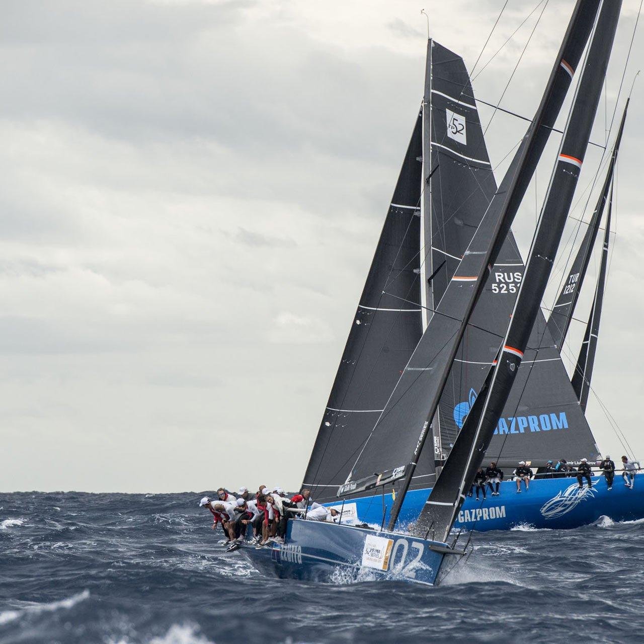 Azzurra, una barca<br>che non ha bisogno<br>di presentazione.