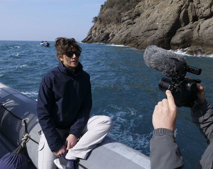 Cleanup fights sea pollution in Liguria