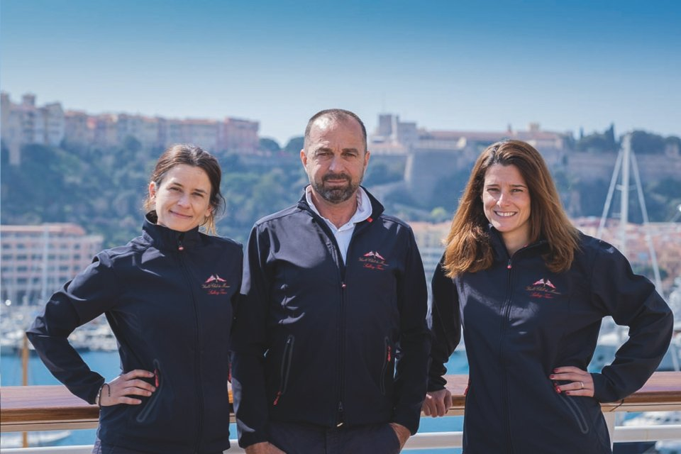 Monaco Optimist Academy,<br>born sailors