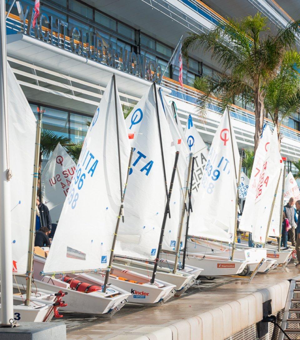 Monaco Optimist Academy,<br>place aux jeunes talents de la voile