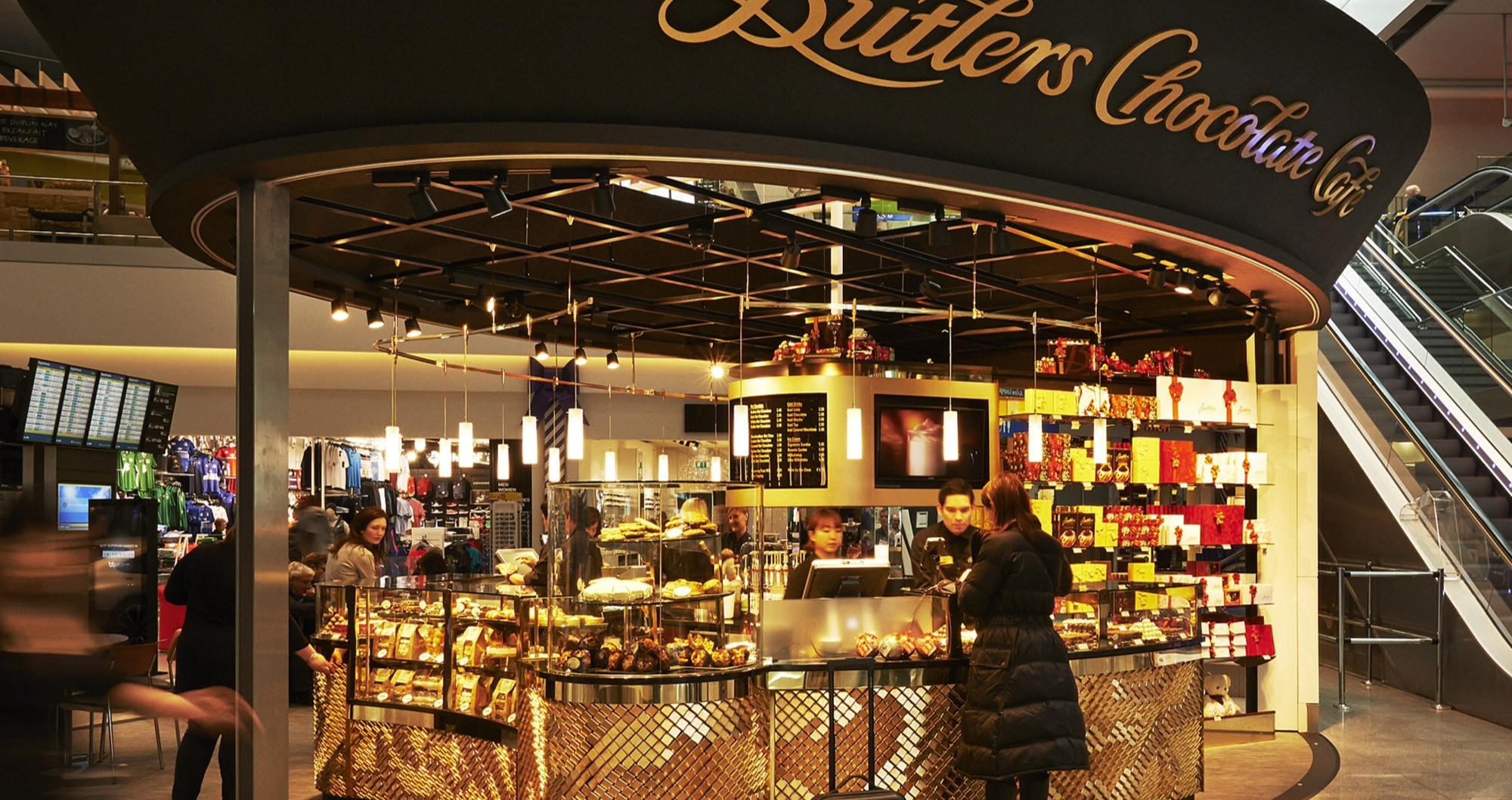 Butlers Chocolate Café, T2, Dublin Airport