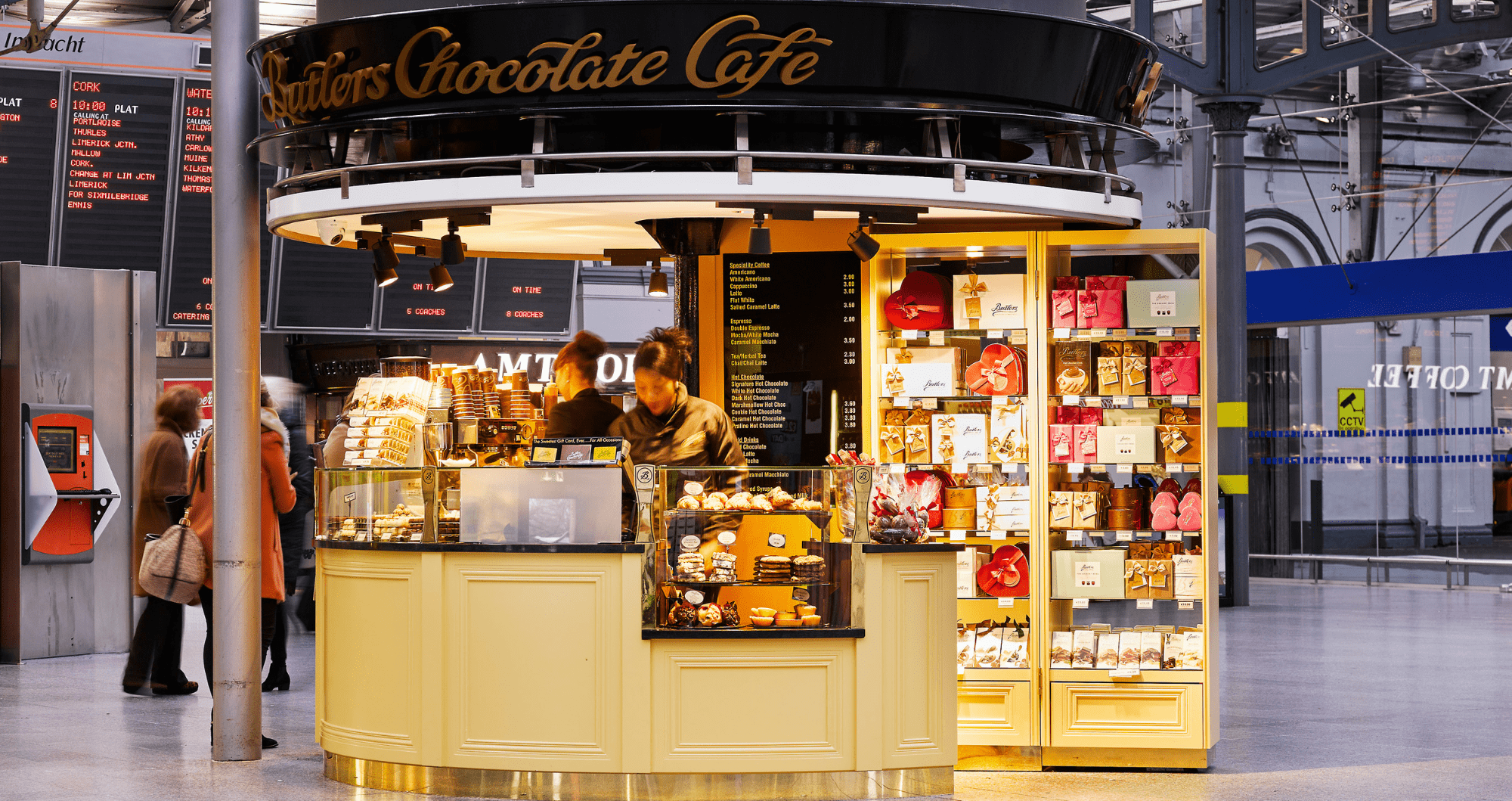 Butlers Chocolate Café, Heuston Station
