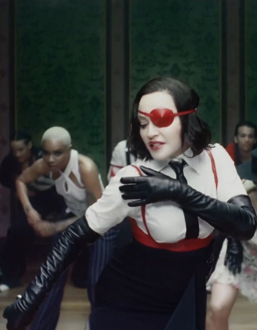 Featured in Madonna's Medellín Music Video<br />Styled by: Ibrahim Kamara <br />Directed by:Diana Kunst & Mau Morgo