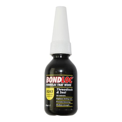 B 243 Threadlock & Seal Adhesive 250ml - 243