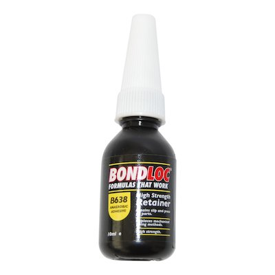B 638 High Strength Retainer Adhesive 250ml - 638