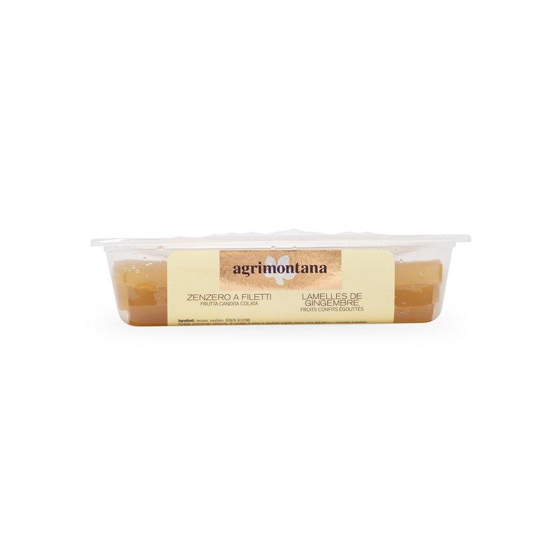 Filets de gingembre confit