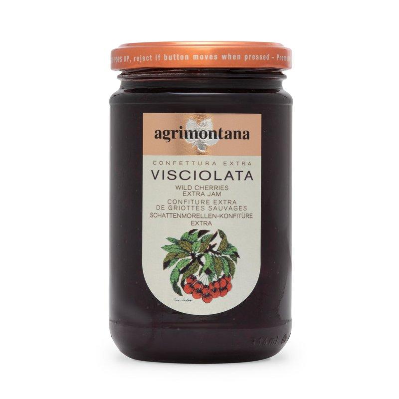 Wild cherries extra jam