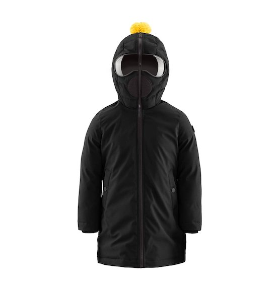 Long Down Jacket Softshell
