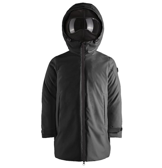 Long parka softshell