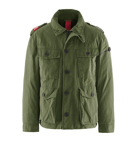 Field Jacket Termosensibile