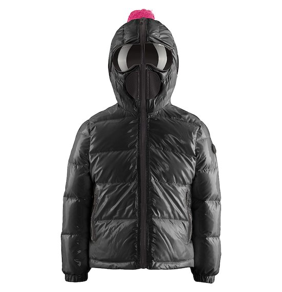 Short Laqué Down Jacket