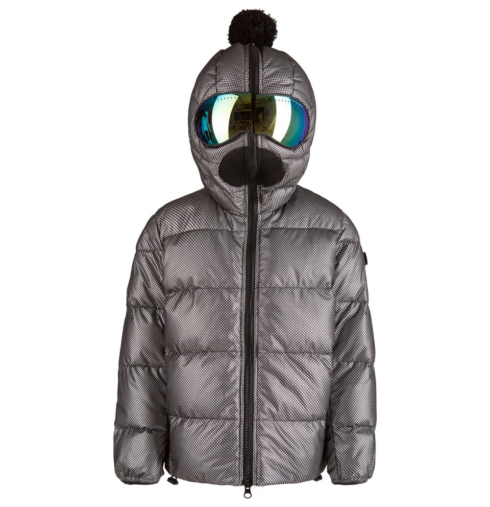 Young Riders Down Jacket Softshell Built In Lenses Ai Riders