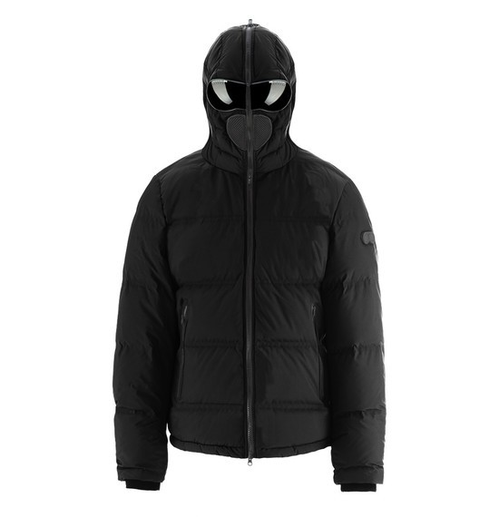 Popeline Down Jacket with Thermoweldable