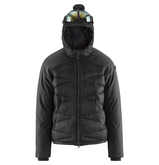 Short Down Jacket Bi-material