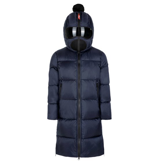 Boy's down jacket in nylon micro-ripstop