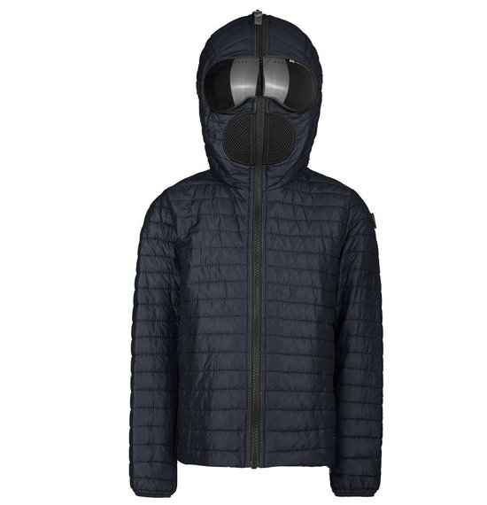 Boys' jacket in nylon micro-ripstop