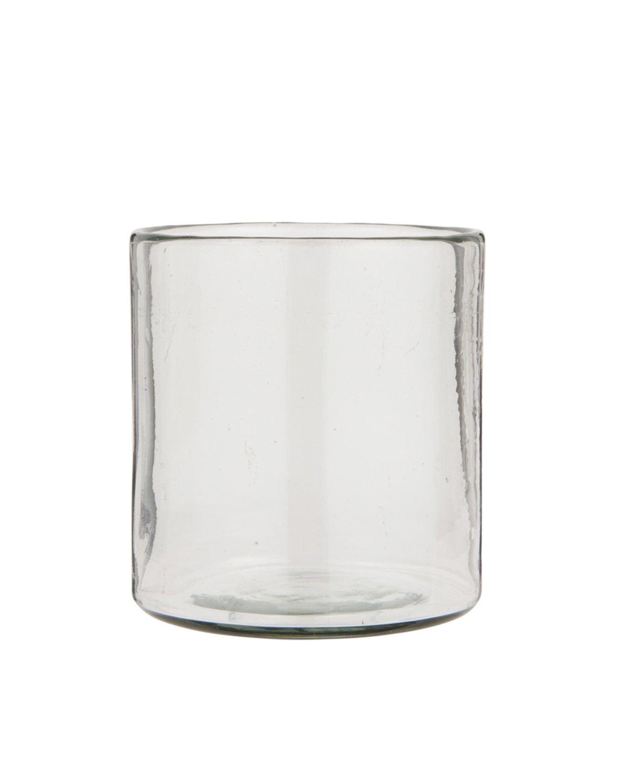 Hurricane Glass Candle Holder - 16cm