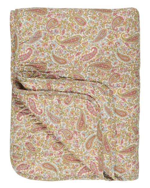 Summer Paisley Cotton Quilt