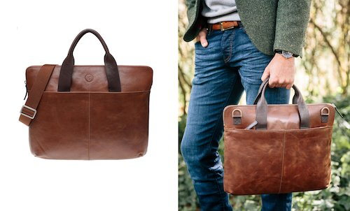 Saddler Leather Laptop Bag