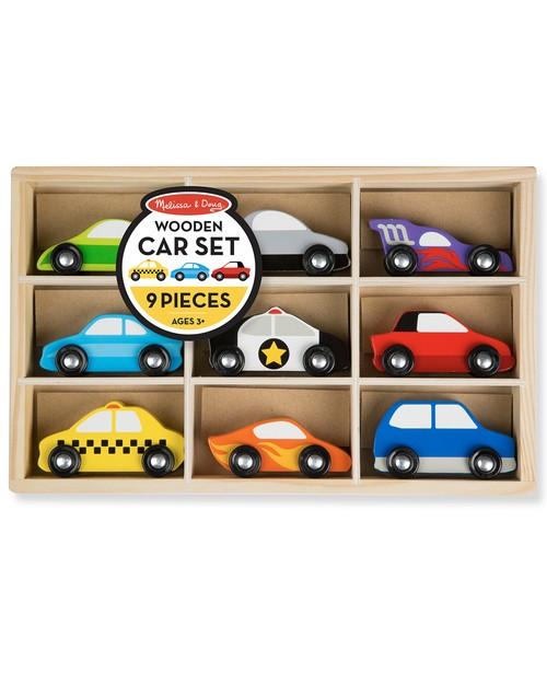 Melissa and Doug 9 Piece Car Set