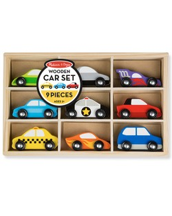 Melissa and Doug 9 Piece Car Set