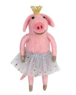 Pink Ballerina Pig