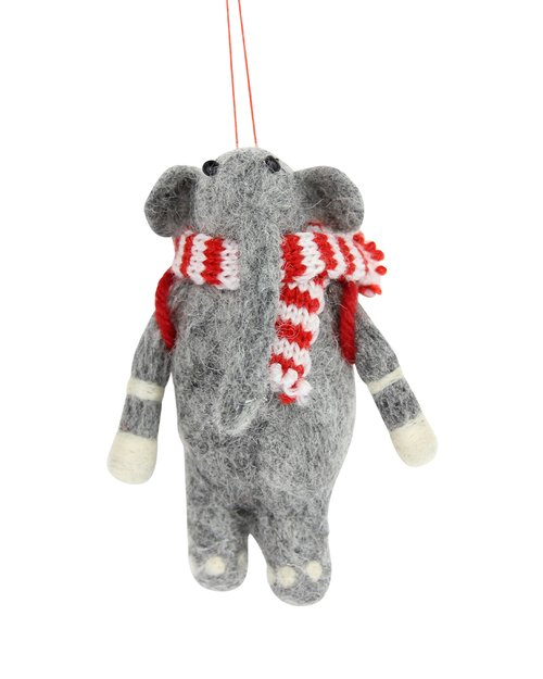 Elephant with Scarf