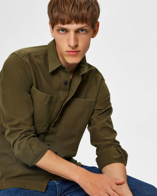 Saki Shirt Jacket