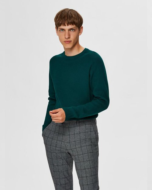 Cornelius Structured Crew Neck Jumper