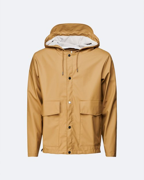 Short Hooded Coat