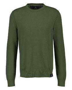 Textured Crewneck Sweater