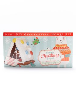 DIY Mini Gingerbread House Kit