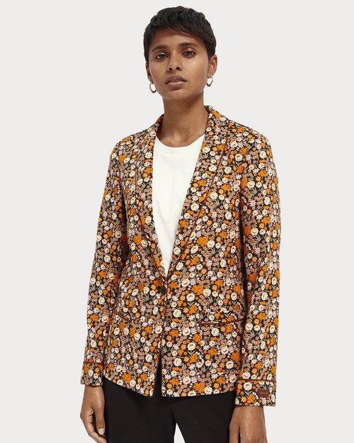 Printed Pyjama Blazer