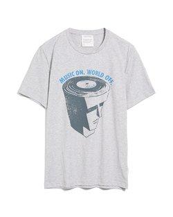 Jaames Music On T-Shirt