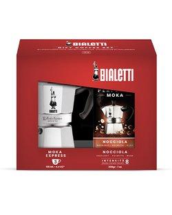 3 Cup Moka Express & Coffee Gift Set