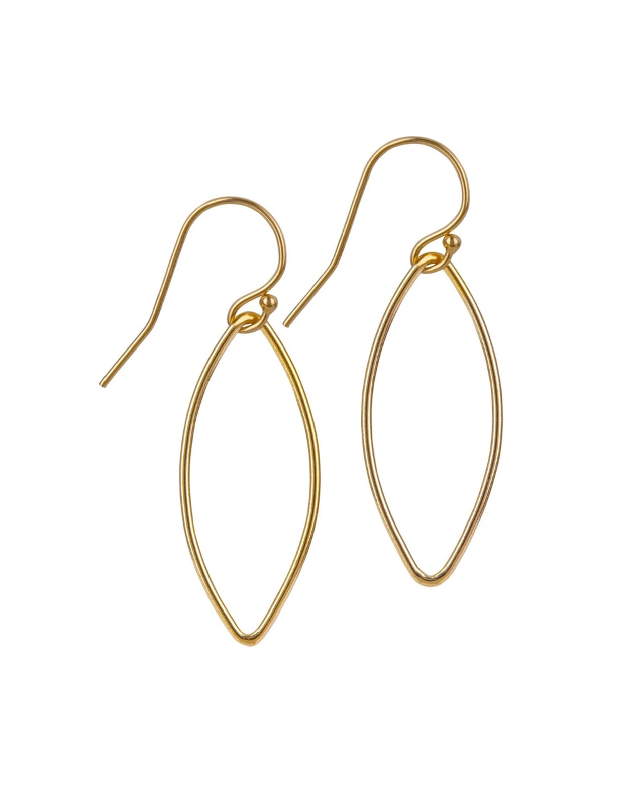 14kt Gold Filled Small Oval Earrings