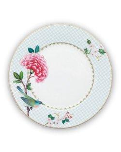 Blushing Birds Plate - White - 21cm