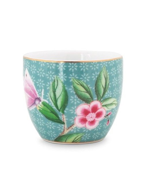 Blushing Birds Egg Cup - Blue
