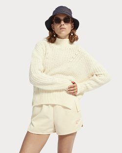 Soft High Neck Knit Pullover
