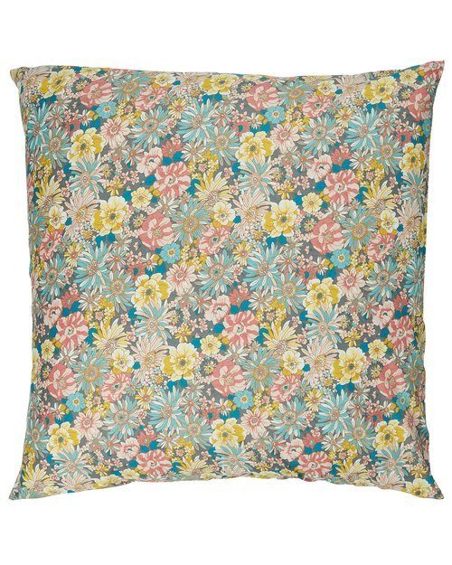 Floral Cotton Cushion