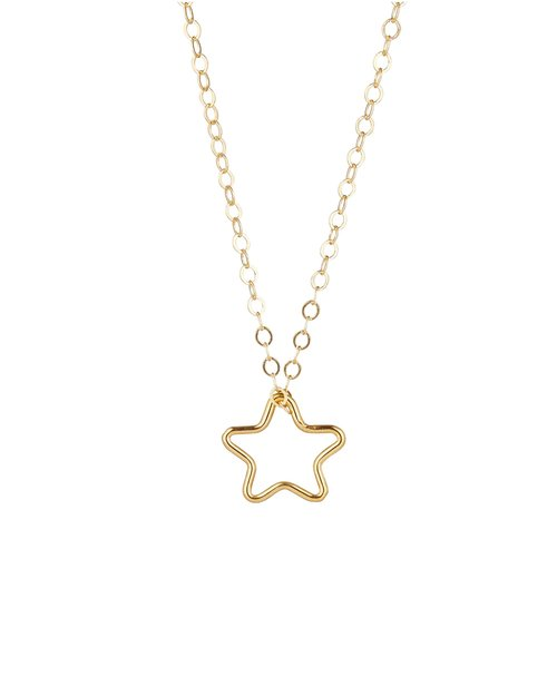 14kt Gold Filled Star Pendant