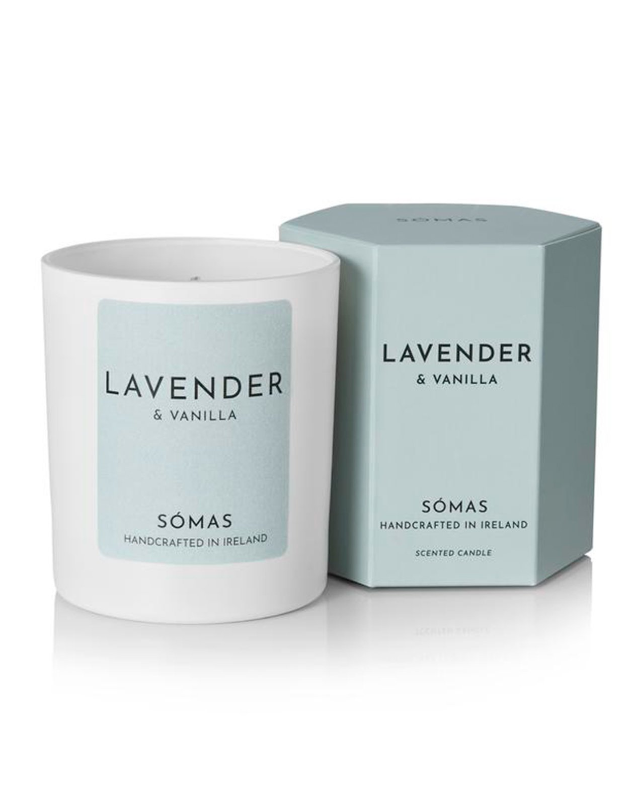 Lavender and Vanilla Scented Soy Candle